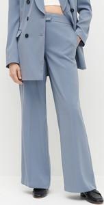 Niebieskie spodnie Reserved w stylu retro