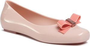 Różowe baleriny eobuwie.pl w stylu casual