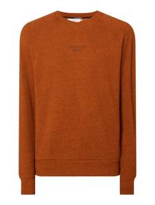 Pomarańczowa bluza Calvin Klein w stylu casual z bawełny