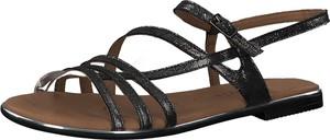 Sandały Tamaris z płaską podeszwą