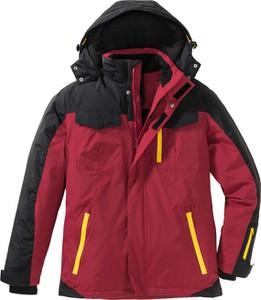 Czerwona kurtka bonprix bpc bonprix collection w stylu casual