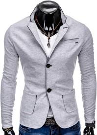 Marynarka ombre clothing w stylu casual z bawełny