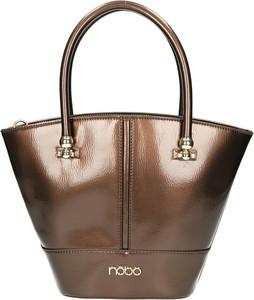 Brązowa torebka NOBO na ramię duża