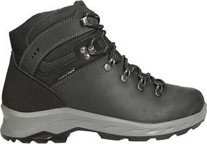 Czarne buty zimowe Everest w sportowym stylu