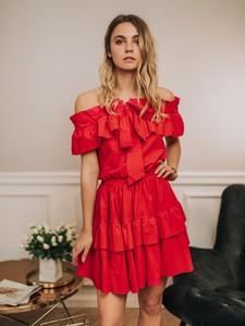 Sukienka Promese z krótkim rękawem mini