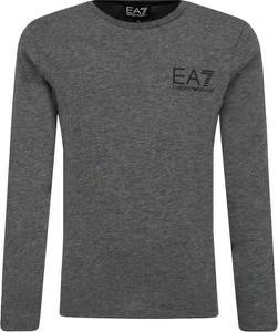 Koszulka dziecięca EA7 Emporio Armani z długim rękawem
