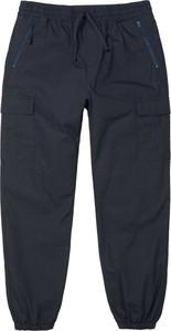 Niebieskie spodnie Carhartt WIP z bawełny