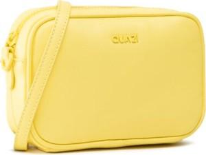 Żółta torebka Quazi w stylu casual matowa