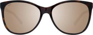 Brązowe okulary damskie Tods Vintage