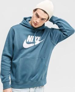 Niebieska bluza Nike w sportowym stylu