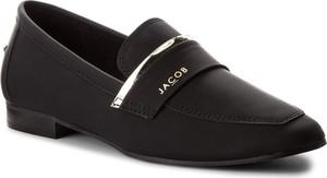 Półbuty nessi - jc018 black mat
