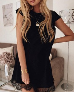 Czarna sukienka Kendallme