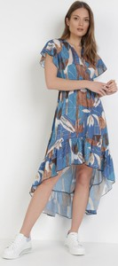 Sukienka born2be asymetryczna