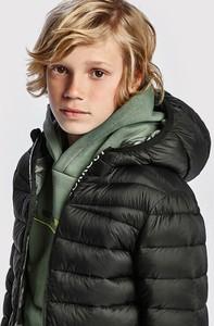 Czarna kurtka dziecięca Mayoral dla chłopców