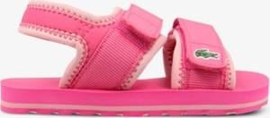 Buty dziecięce letnie Lacoste na rzepy