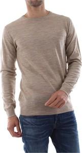 Zielony sweter G-star w stylu casual