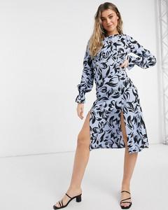 Sukienka Influence z długim rękawem z golfem