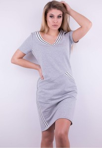 fce4a597a1 dresowa sukienka tunika - stylowo i modnie z Allani