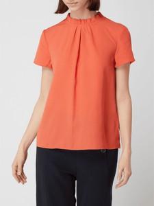 Pomarańczowa bluzka Jake*s z krótkim rękawem z okrągłym dekoltem