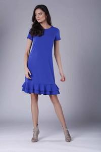 Sukienka Nommo z okrągłym dekoltem