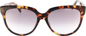 Brązowe okulary damskie Marc Jacobs