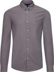 Brązowa koszula Tommy Hilfiger