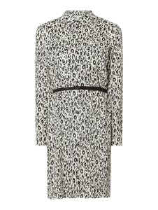 Sukienka Esprit koszulowa w stylu casual z długim rękawem