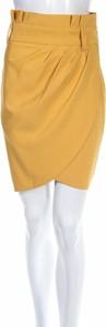 Żółta spódnica Vera&Lucy w stylu klasycznym
