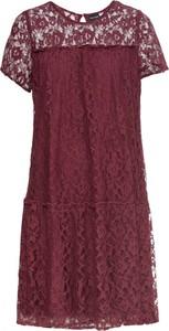 Sukienka bonprix BODYFLIRT w stylu casual z krótkim rękawem midi
