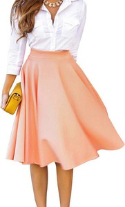 Różowa spódnica Cikelly mini