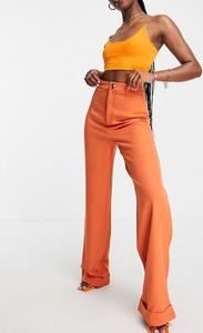 Pomarańczowe spodnie Public Desire