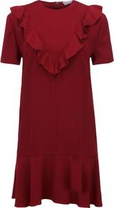 Sukienka Red Valentino w stylu casual z krótkim rękawem