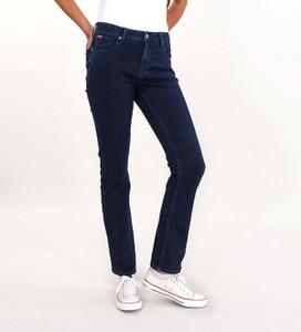 Jeansy Lee Cooper w street stylu z jeansu