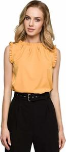 Bluzka Style w stylu casual z okrągłym dekoltem