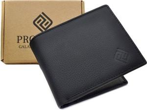 Czarny portfel męski Promesso