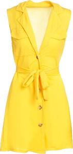 Sukienka Multu mini z dekoltem w kształcie litery v w stylu casual