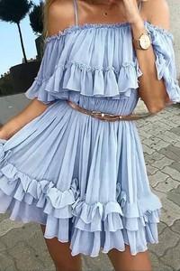 Sukienka Ivet.pl mini w stylu casual hiszpanka