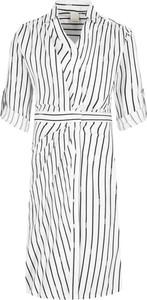 Sukienka Pinko w stylu casual z krótkim rękawem koszulowa