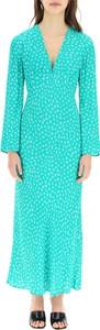 Sukienka Rixo z dekoltem w kształcie litery v maxi w stylu casual