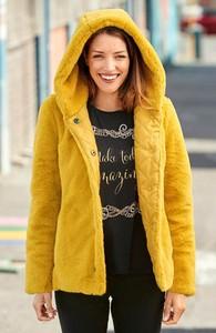 Żółta kurtka Cellbes w stylu casual