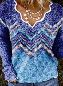 Niebieski sweter Cikelly
