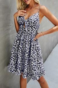 Sukienka IVET na ramiączkach mini