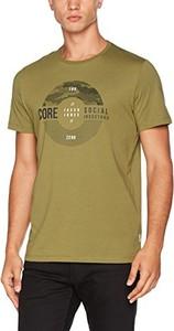 Brązowy t-shirt Jack & Jones