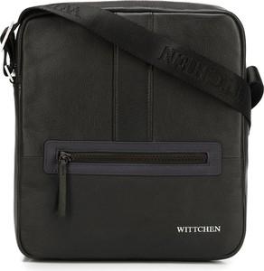 Czarna torebka Wittchen na ramię z tkaniny
