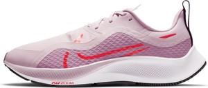 Różowe buty sportowe Nike pegasus sznurowane