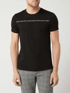 T-shirt Armani Exchange z bawełny w młodzieżowym stylu z nadrukiem