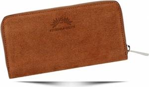 Pomarańczowy portfel VITTORIA GOTTI