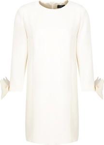 Sukienka Elisabetta Franchi z okrągłym dekoltem