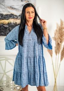 Sukienka Fason z długim rękawem mini