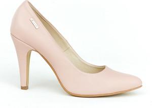 Szpilki Zapato na obcasie ze skóry w stylu klasycznym